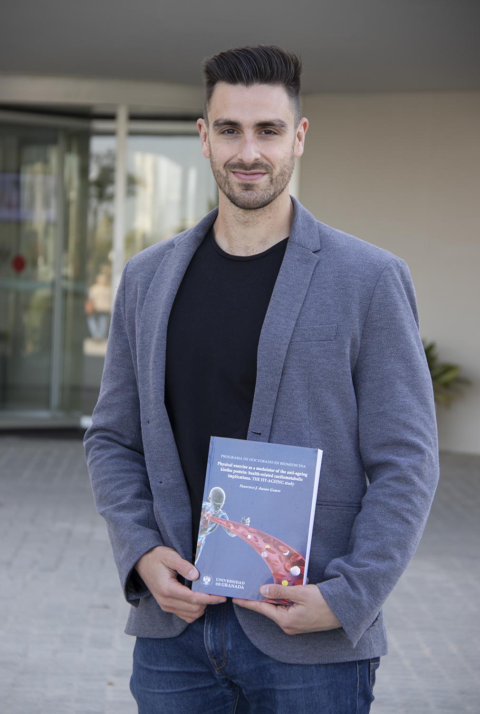 La tesis doctoral de Francisco Amaro, investigador de la UGR, elegida como la mejor del mundo en Medicina del Deporte