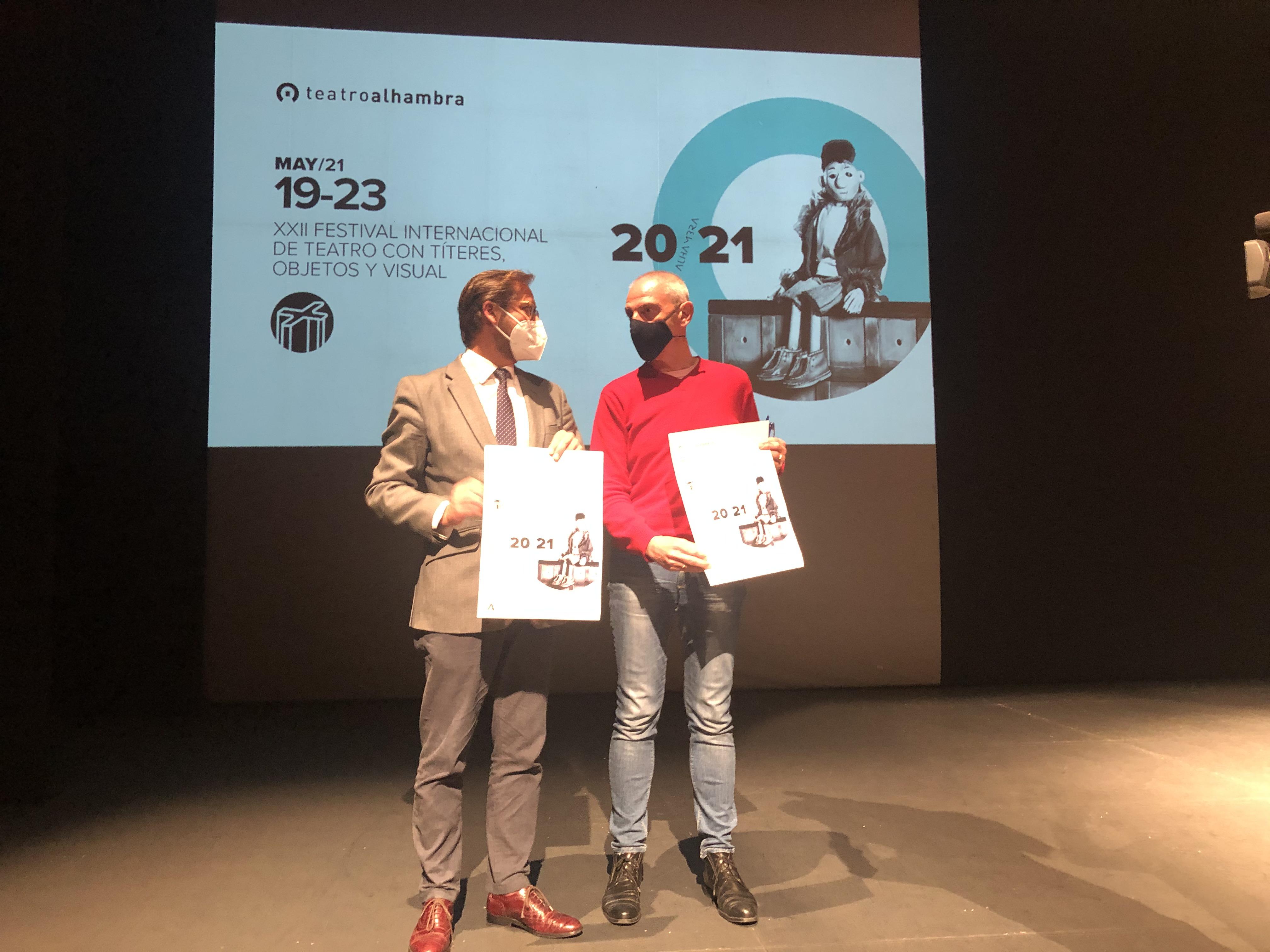 El Teatro Alhambra concluye temporada con una nueva edición del Festival de Títeres, Objetos y Visual para adultos y público familiar