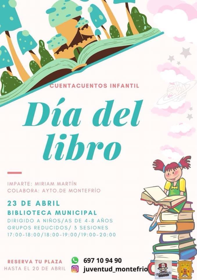 El Ayuntamiento de Montefrío organiza un cuentacuentos infantil con motivo del Día del Libro