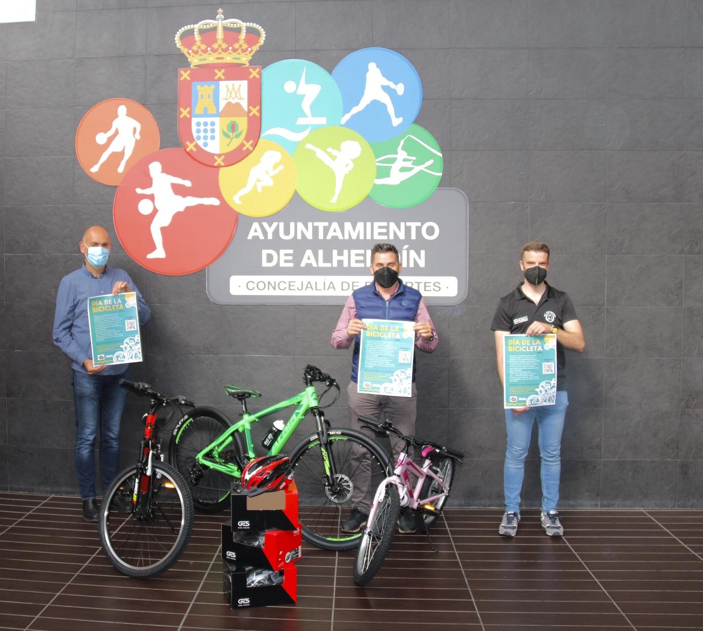 Alhendín celebra el Día de la Bicicleta con inscripción y sorteo online