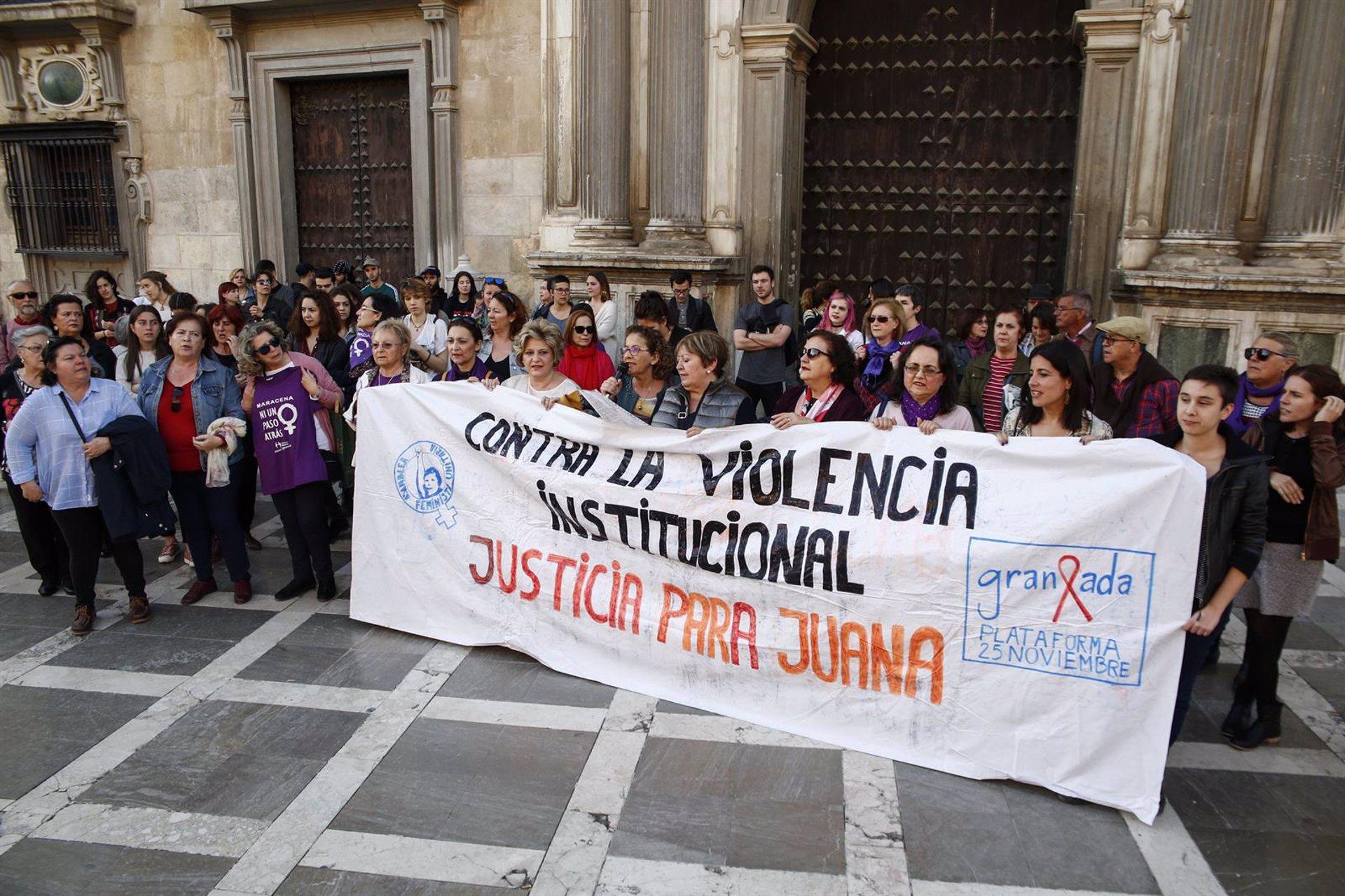 La Plataforma 25N ve «tremendamente injusta» la condena del Supremo a Juana Rivas