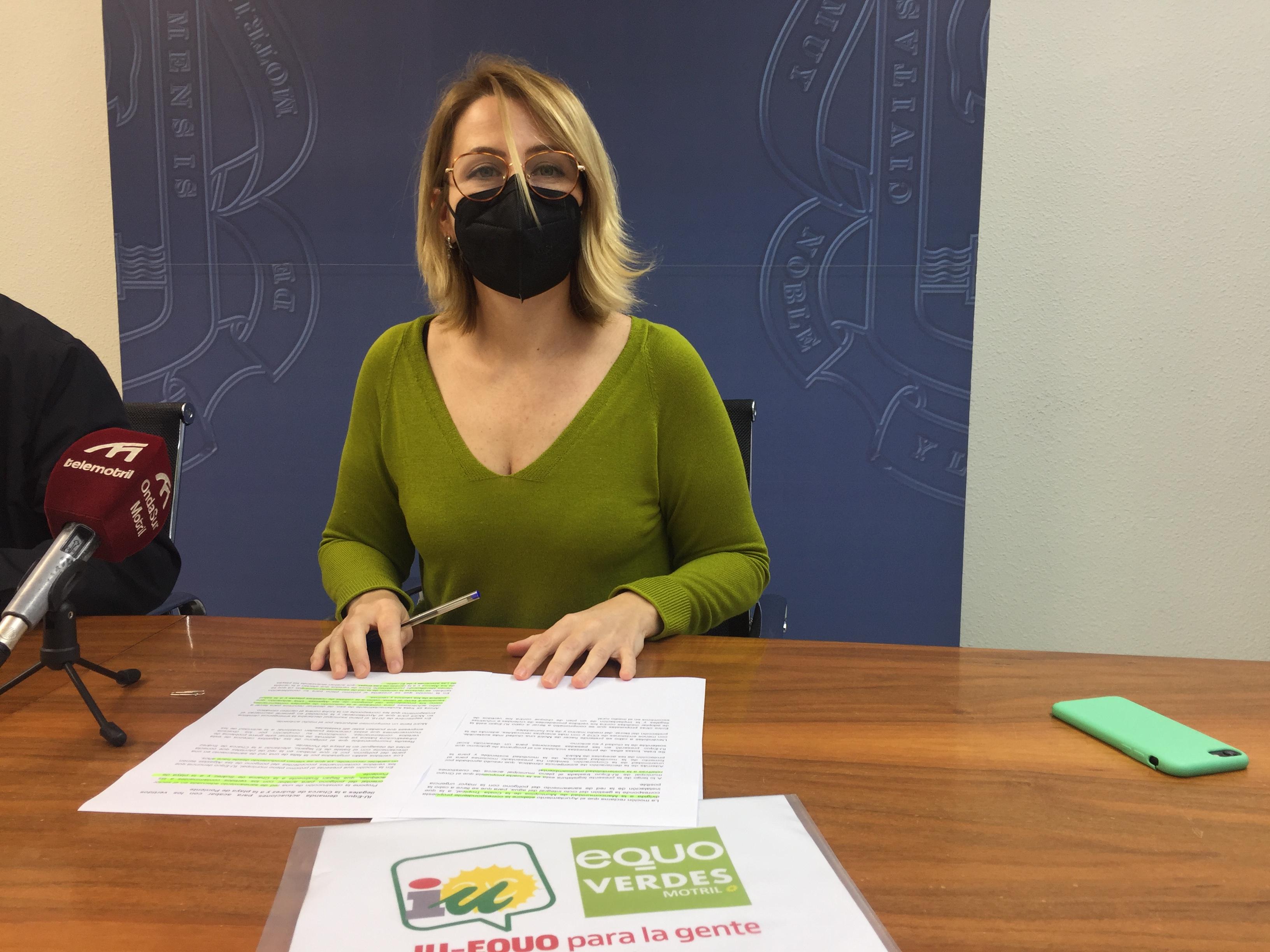 IU-Equo Motril demanda actuaciones para acabar con los vertidos ilegales a la Charca de Suárez y a la playa de Poniente
