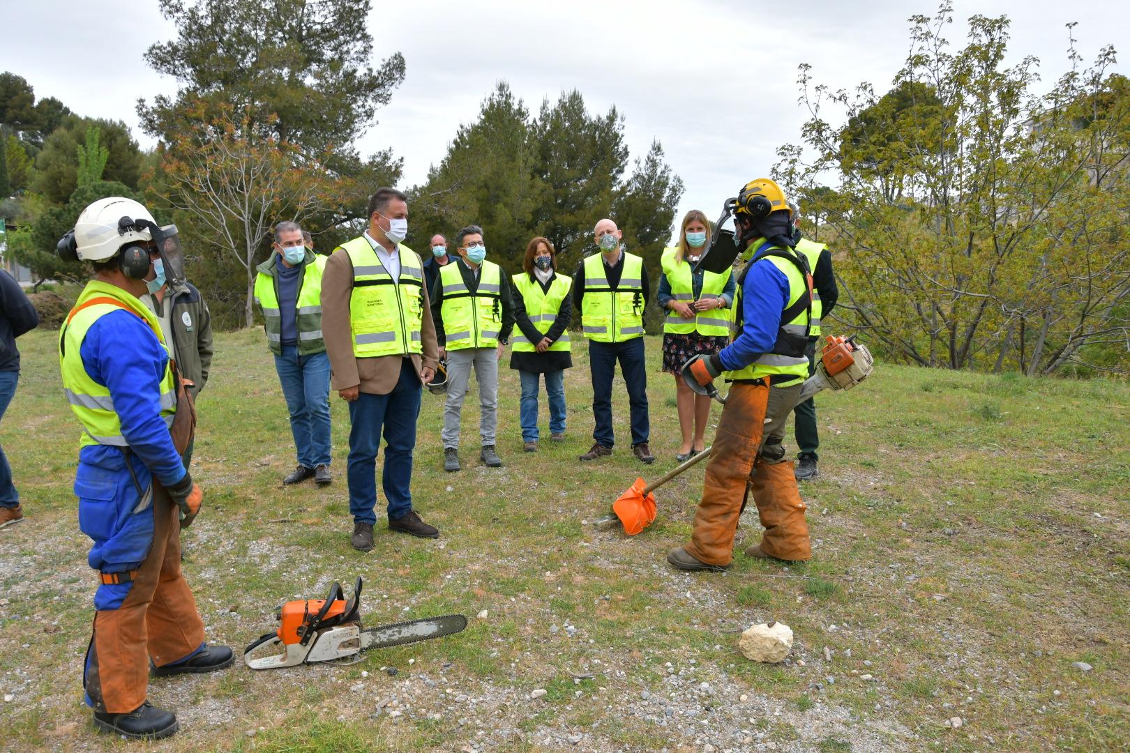 El INFOCA realiza tratamientos selvícolas sobre 548 hectáreas de terreno forestal antes del periodo alto de incendios