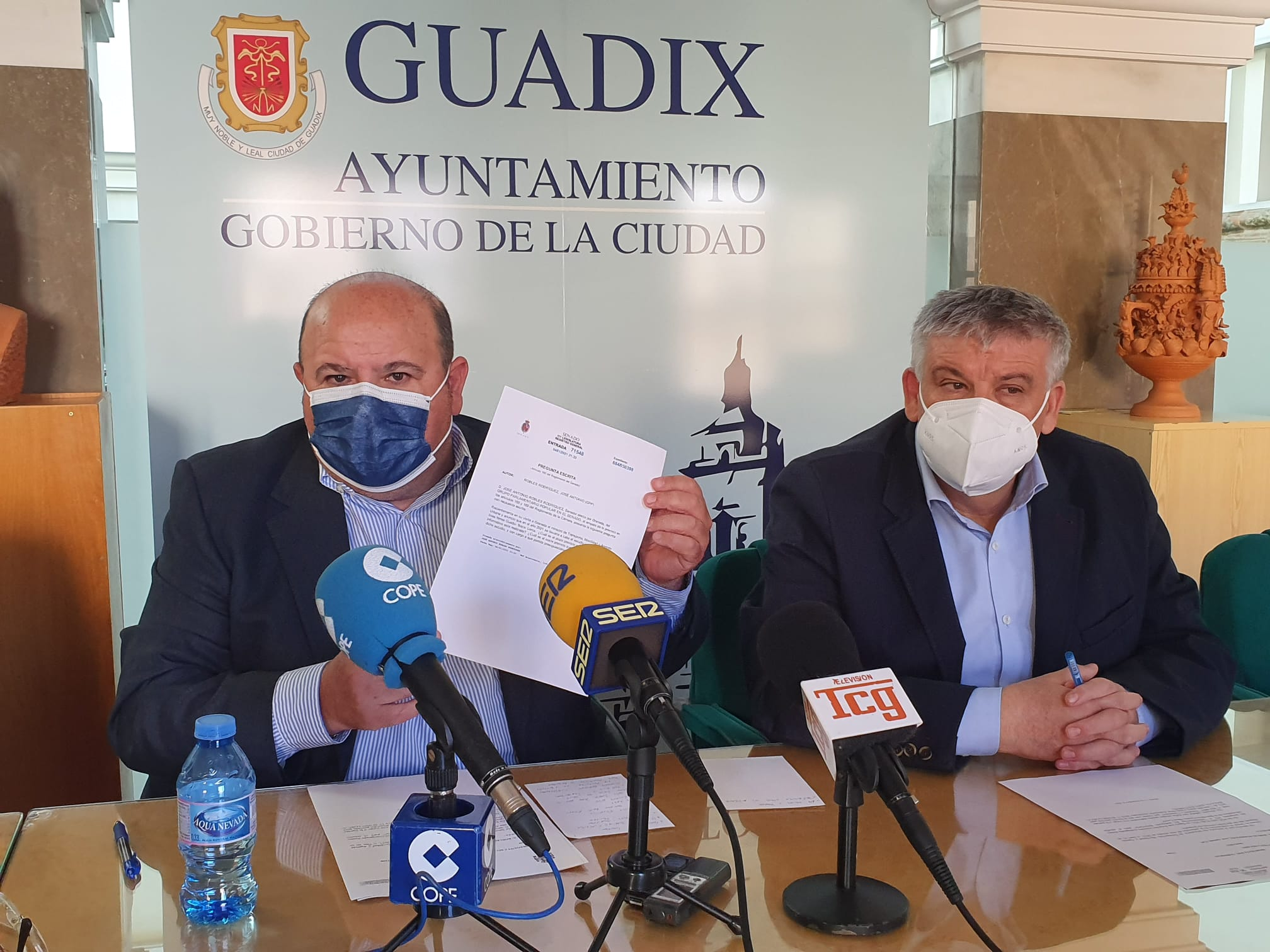 """El PP critica que la línea Guadix-Baza-Lorca """"no está entre los planes"""" del Gobierno"""