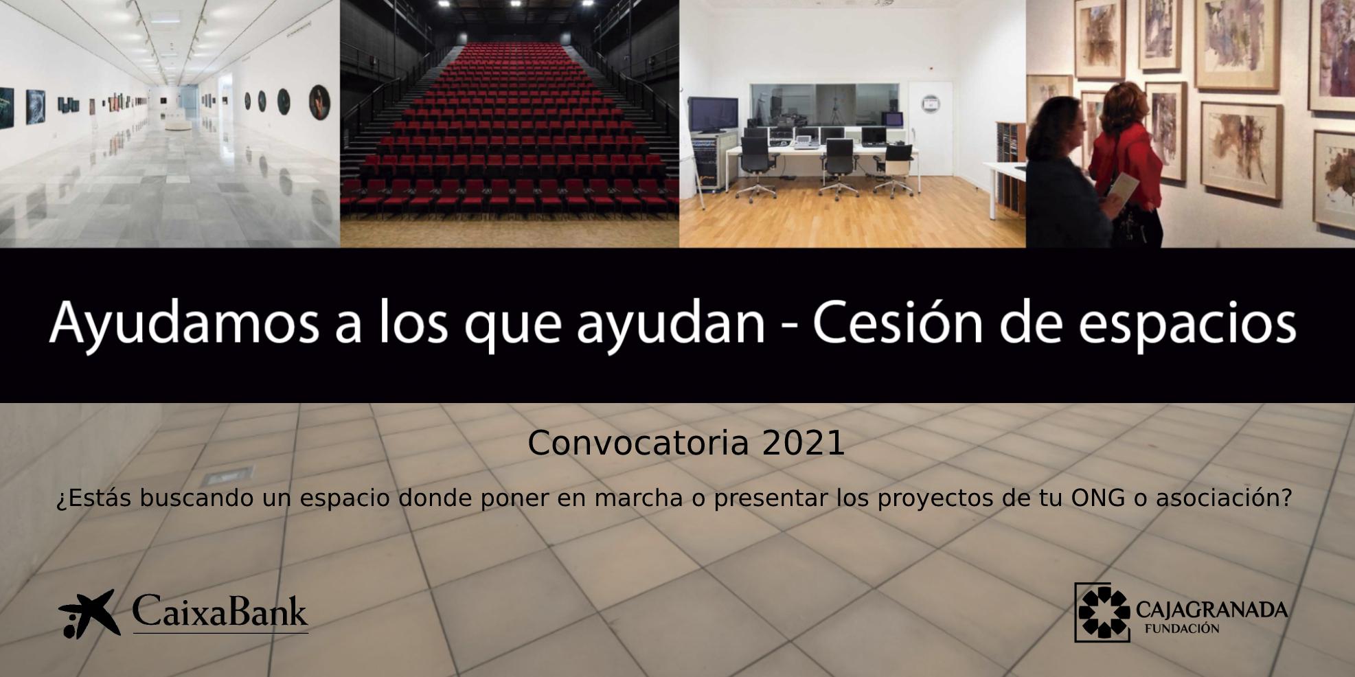 CaixaBank y CajaGranada Fundación cederán espacios para entidades sociales