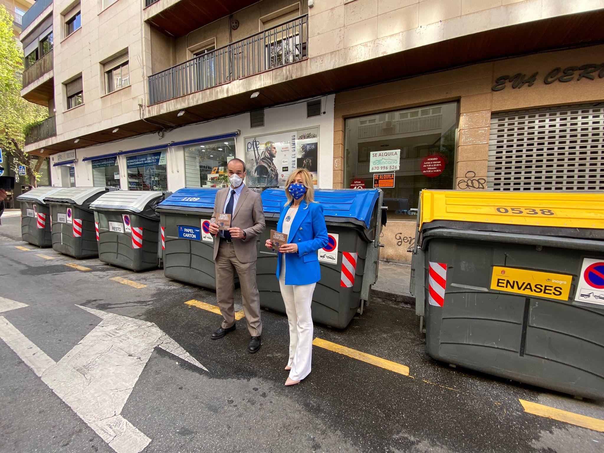 Los nuevos «ecopuntos» aumentan el reciclaje en un 20%