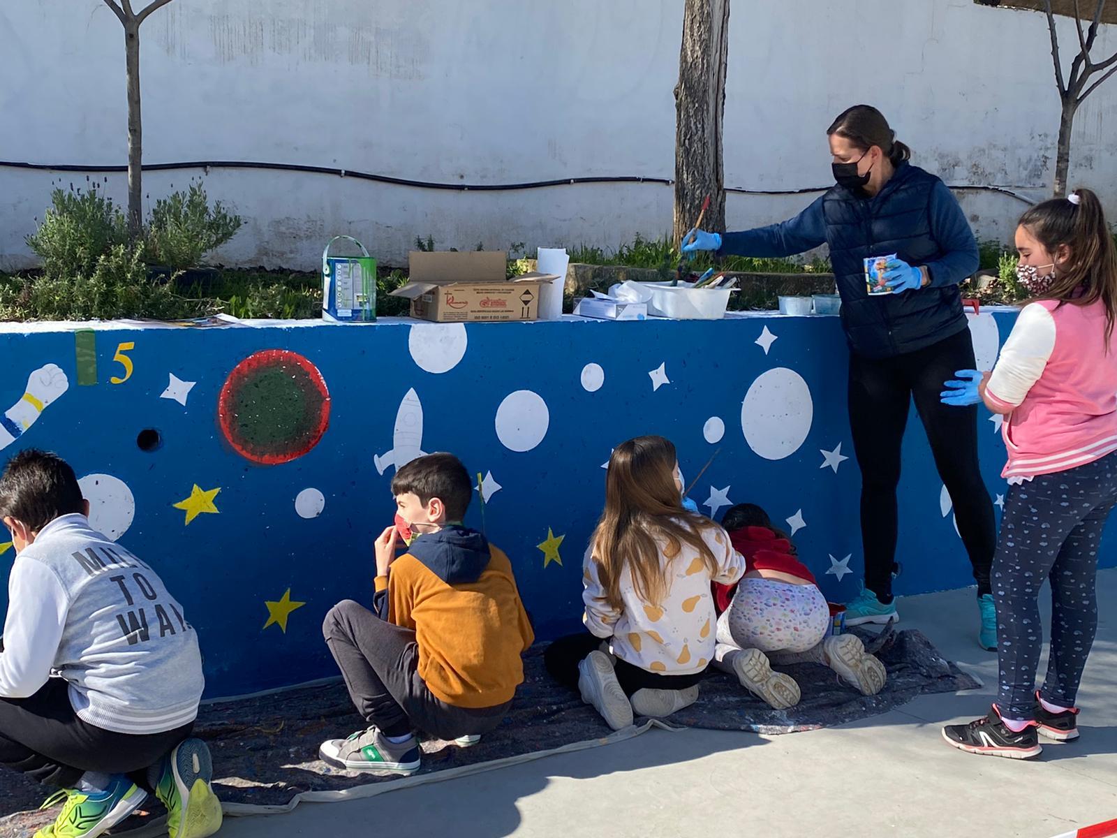 Escolares de Otura se forman como astronautas en un proyecto en el que colabora la Agencia Espacial Europea