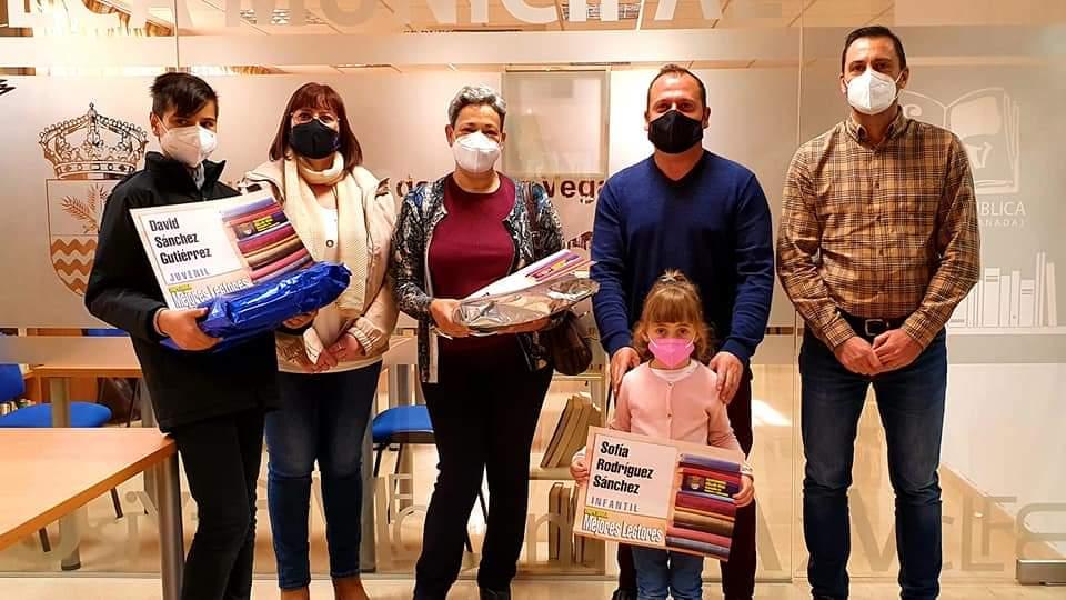 Cúllar Vega reconoce en el Día del Libro a los tres vecinos que más leyeron durante 2020