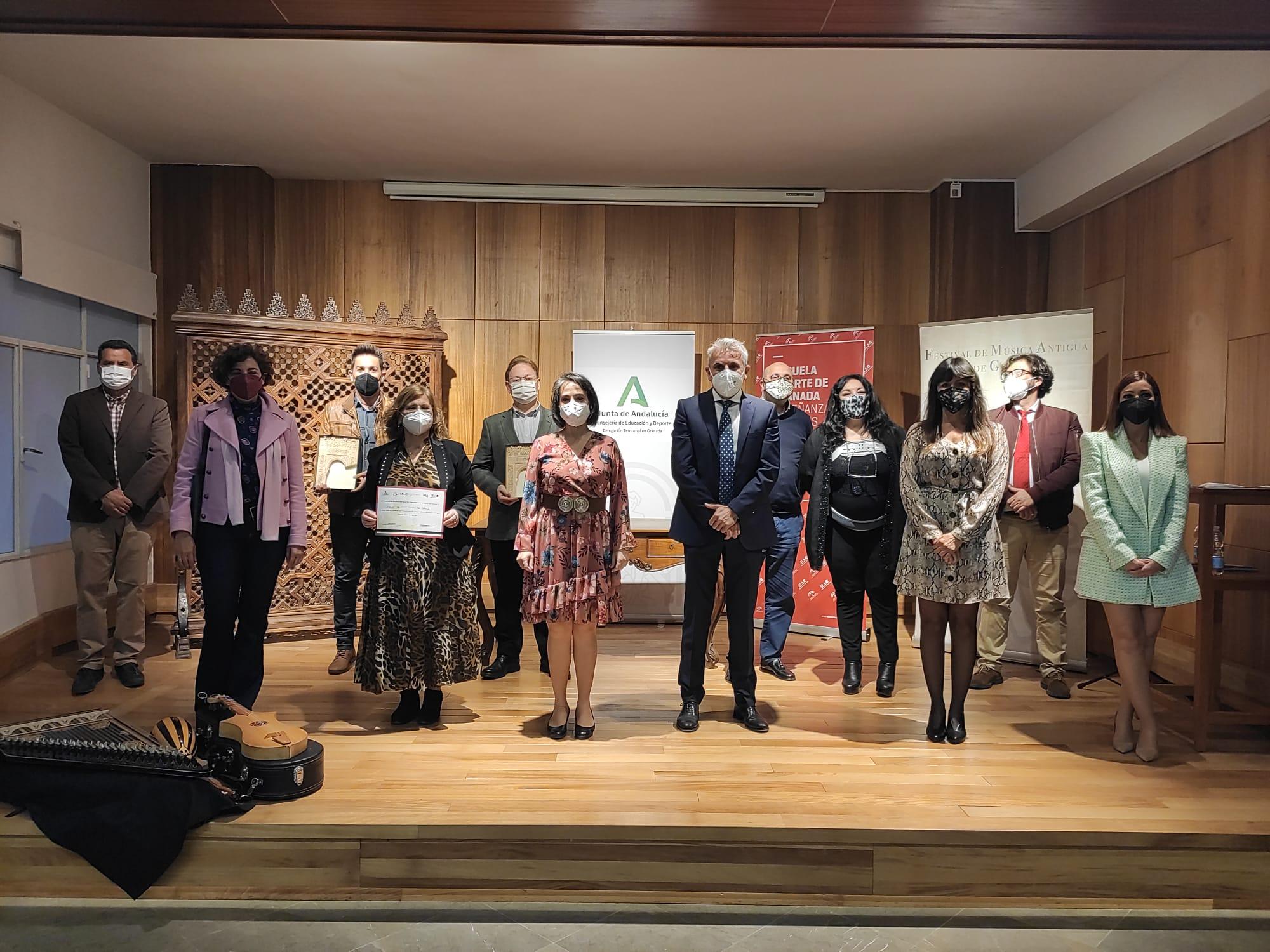 Entregados los premios del 'II Concurso de Interpretación de Música Antigua' de Granada