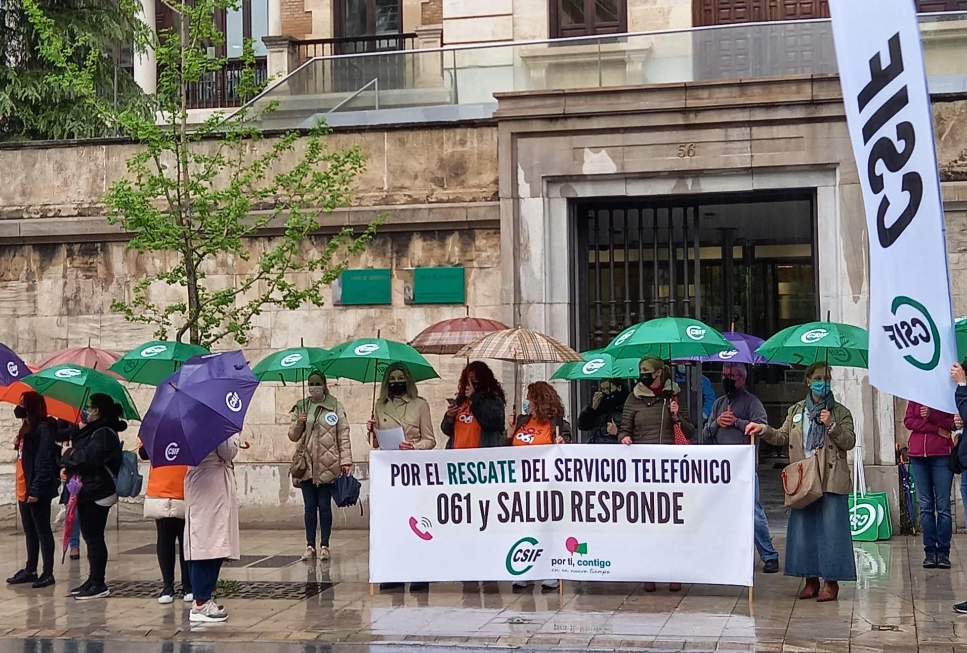CSIF Granada reclama el rescate público del servicio telefónico de 061, que prestan alrededor de 40 trabajadores en la provincia