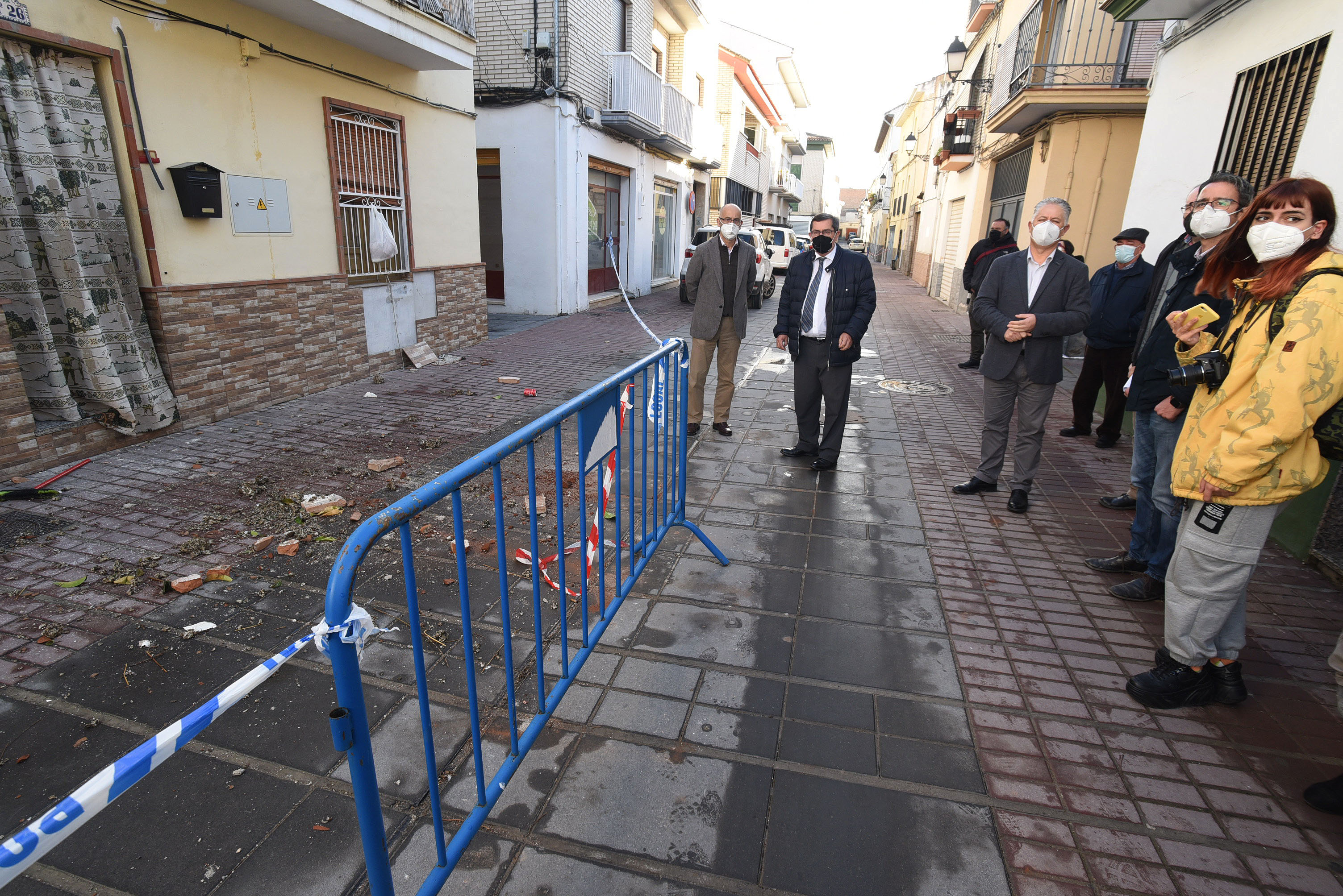 Diputación ha inspeccionado más de 220 inmuebles en cuatro municipios tras los terremotos de enero y febrero