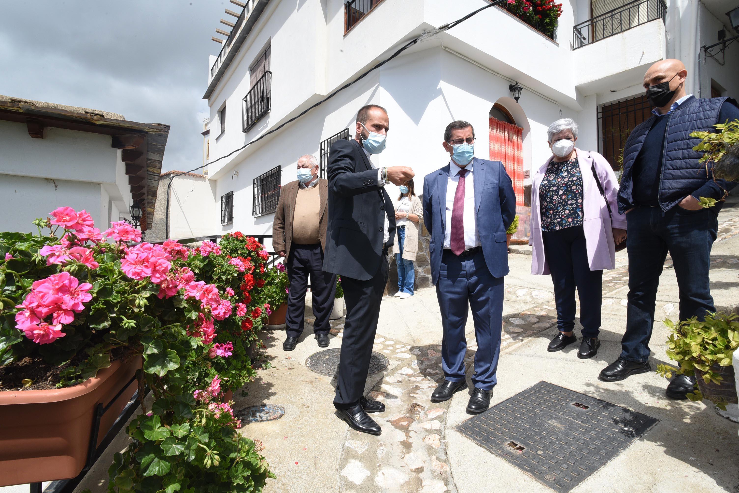 Proyectan una nueva vía de acceso al casco urbano de Soportújar