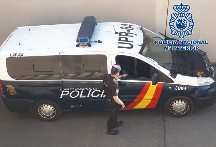 Detenido en Almuñécar un fugitivo internacional por delitos contra el patrimonio
