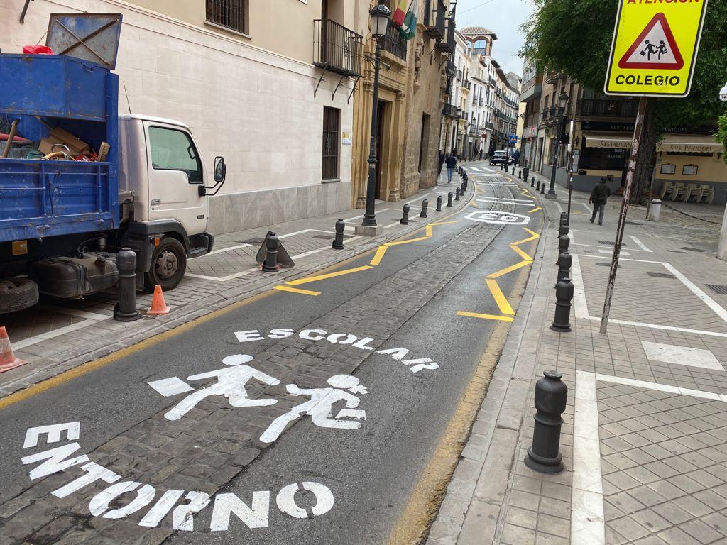 Vox exige el cese de César Díaz tras la nueva señalización de calles realizada en el realejo