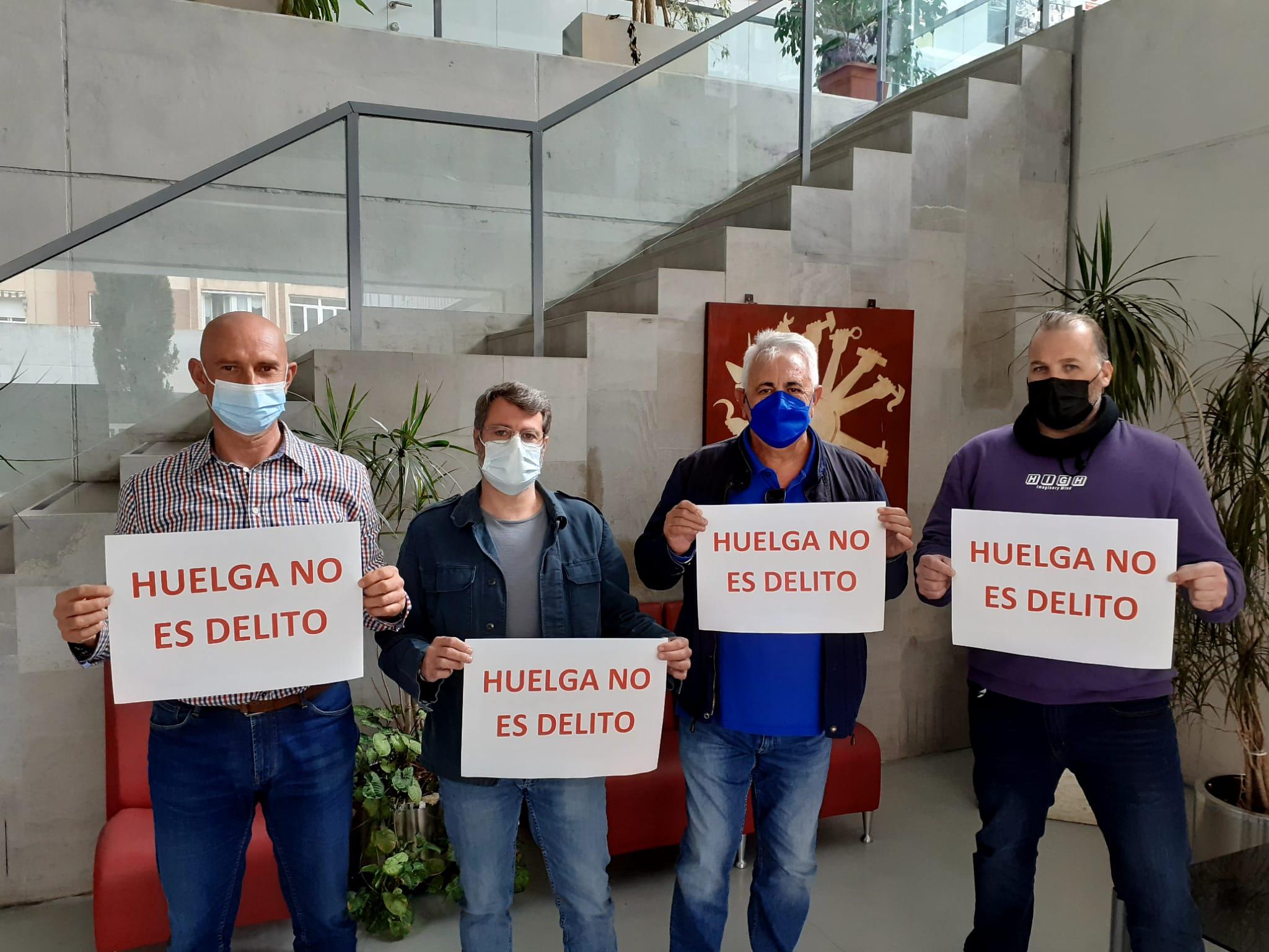 CCOO celebra la supresión del derecho a huelga como delito del código penal