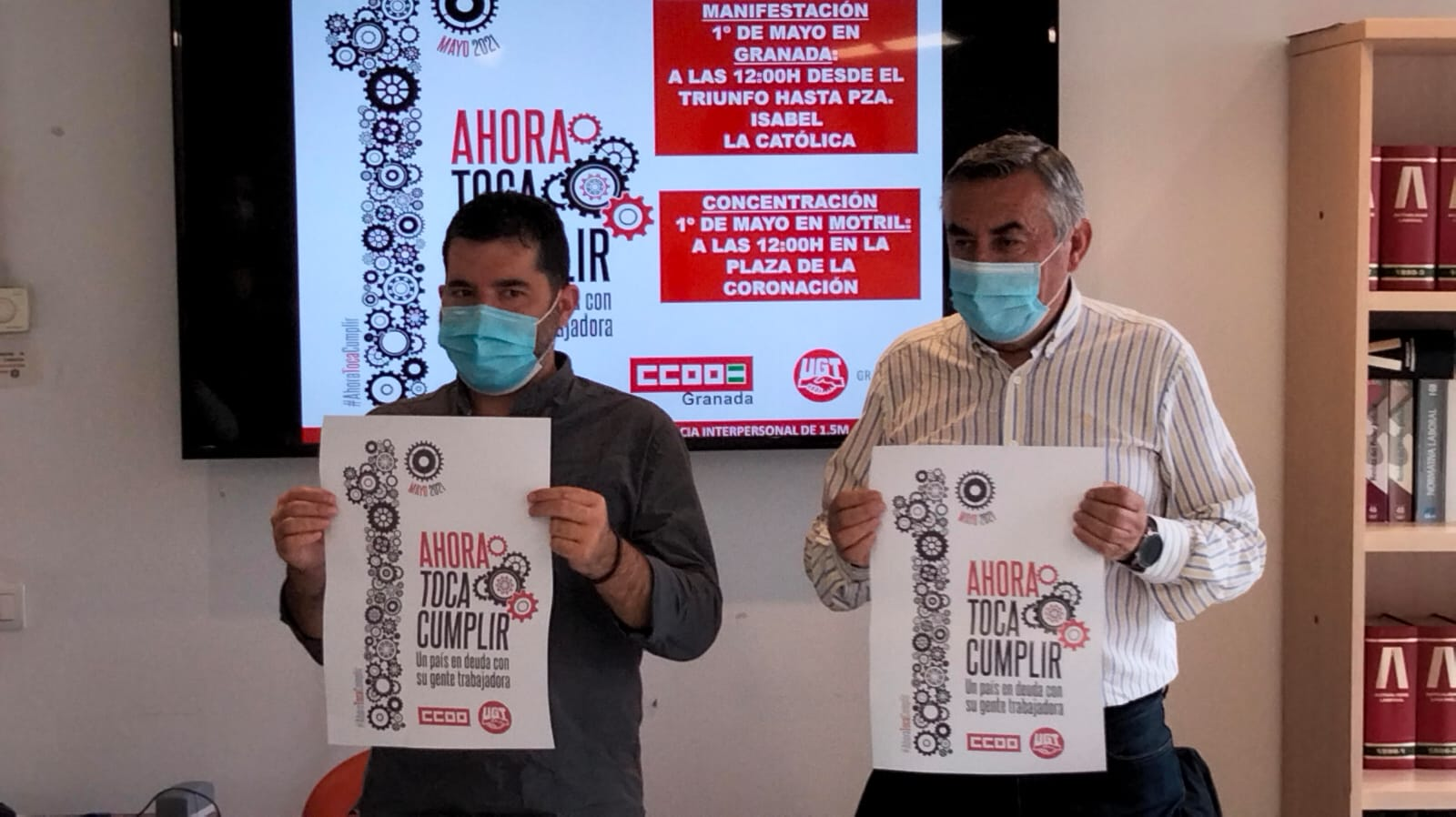 UGT y CCOO reivindican conjuntamente un 1º de Mayo en el «que el país está en deuda con su gente trabajadora»