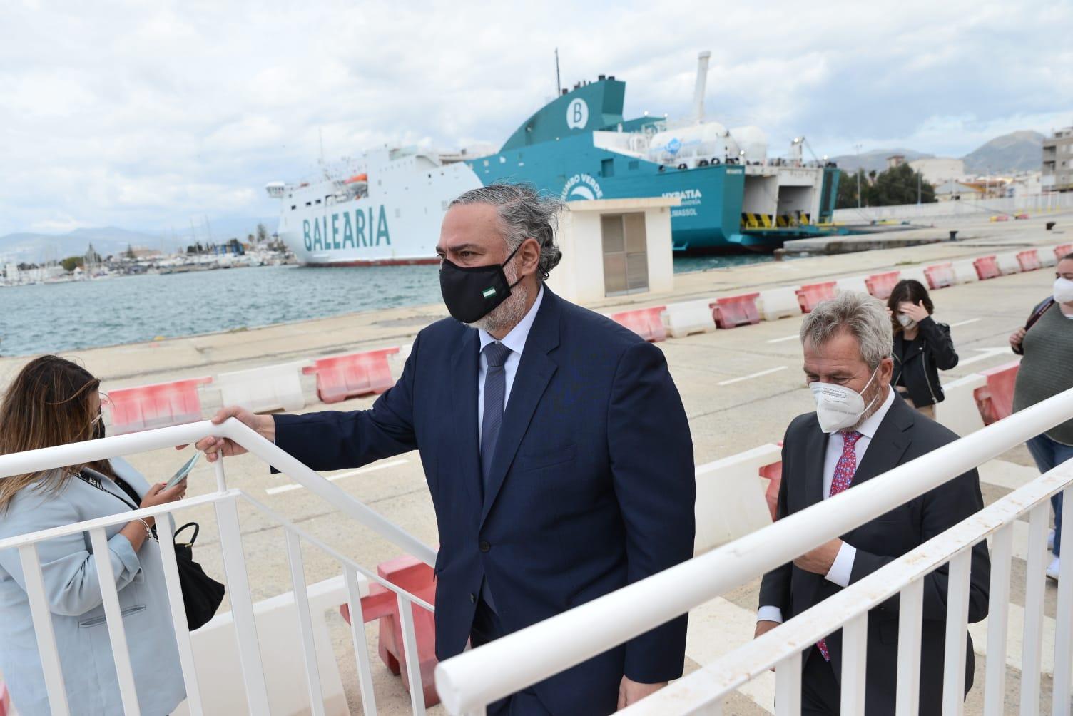 Pablo García celebra la reactivación de la Estación Marítima de Levante y reclama el eje ferroviario para el Puerto de Motril