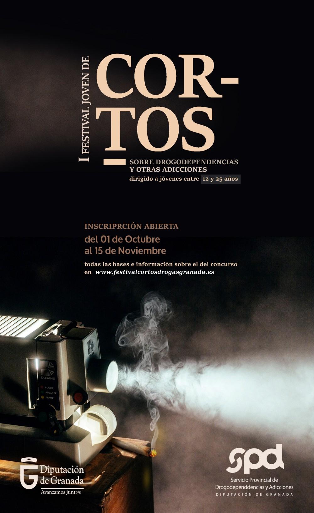 23 trabajos audiovisuales participan en el Festival Joven de Cortos sobre drogas y adicciones de Diputación