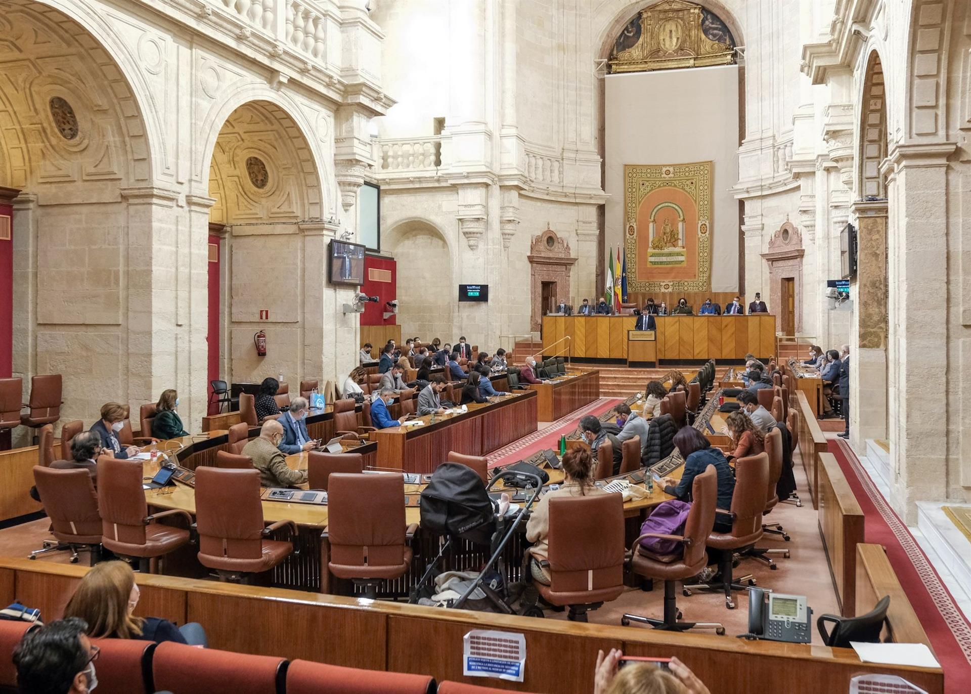 El Parlamento debatirá el miércoles dos decretos de la Junta de medidas para paliar efectos de la pandemia