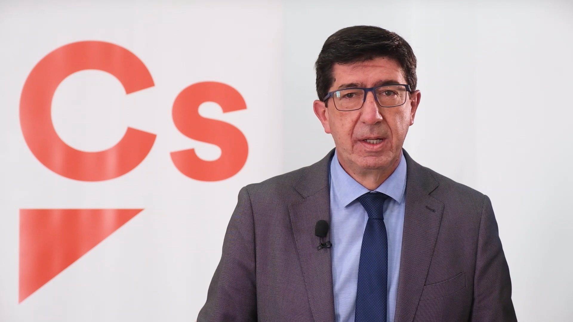 Marín recalca que «no hay ningún debate» sobre la Alcaldía de Granada: «Salvador va a ser alcalde cuatros años»
