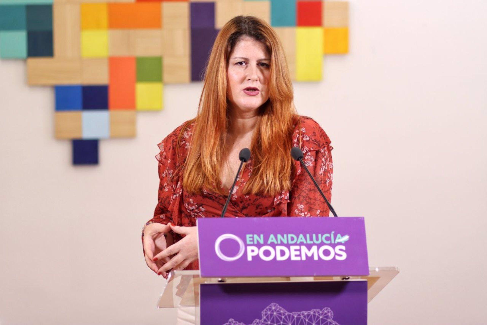 Podemos pide a Moreno que «rectifique y de marcha atrás con su proyecto de dudosa legalidad para espiar a funcionarios»