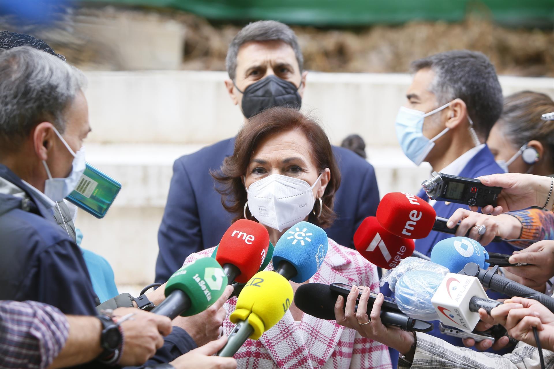 Calvo ve «gravísima» la amenaza de muerte a Marlaska, Iglesias y Gámez: «No pararemos hasta encontrar al responsable»