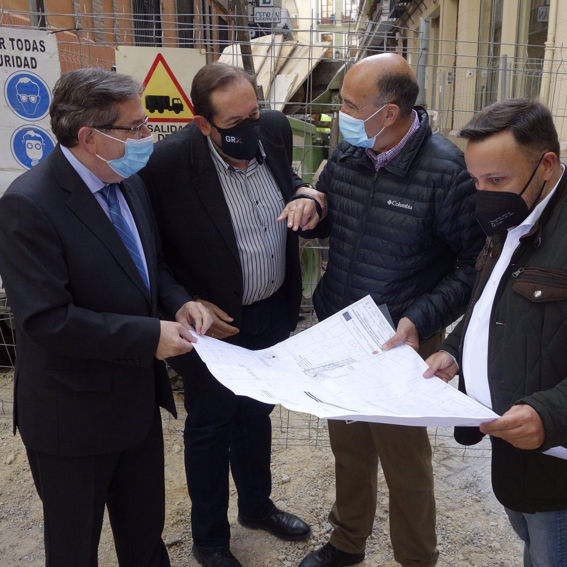 Urbanismo intervendrá en varias calles del Bajo Albaicín, y zona de Calle Elvira