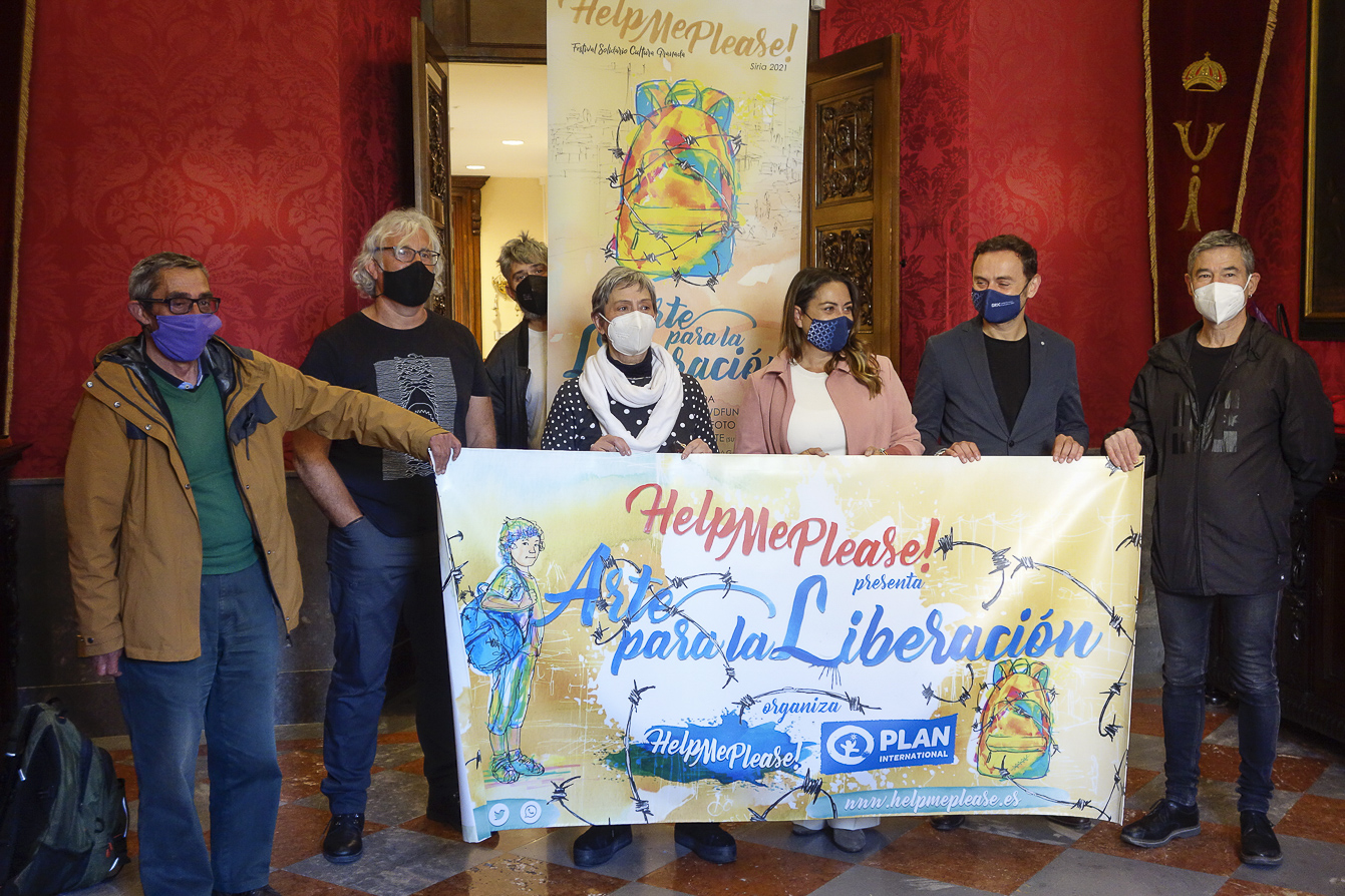 El Ayuntamiento se suma al Festival Solidario «Help me Please!»