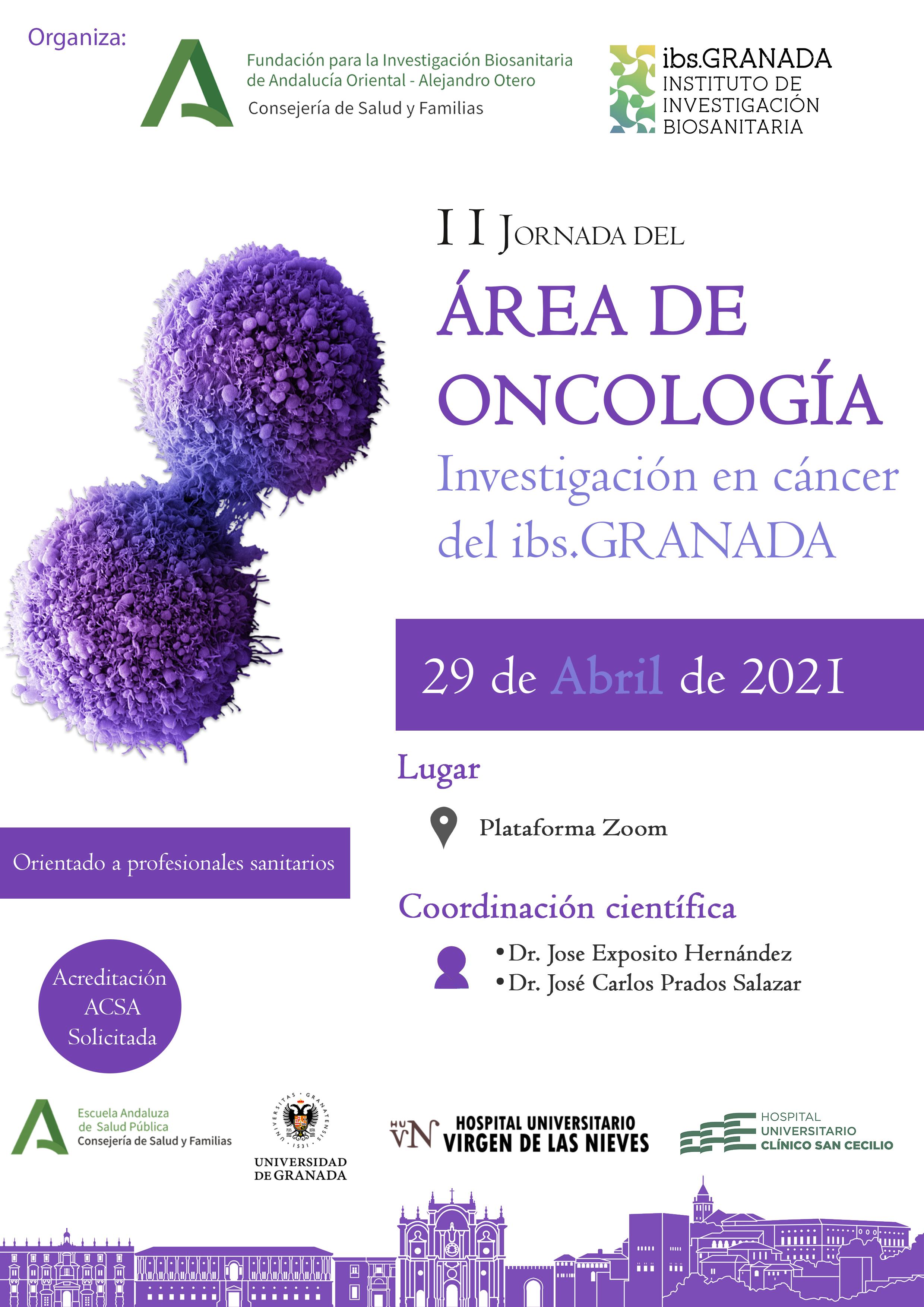 Granada reúne a un centenar de profesionales para compartir los últimos avances de investigación en cáncer