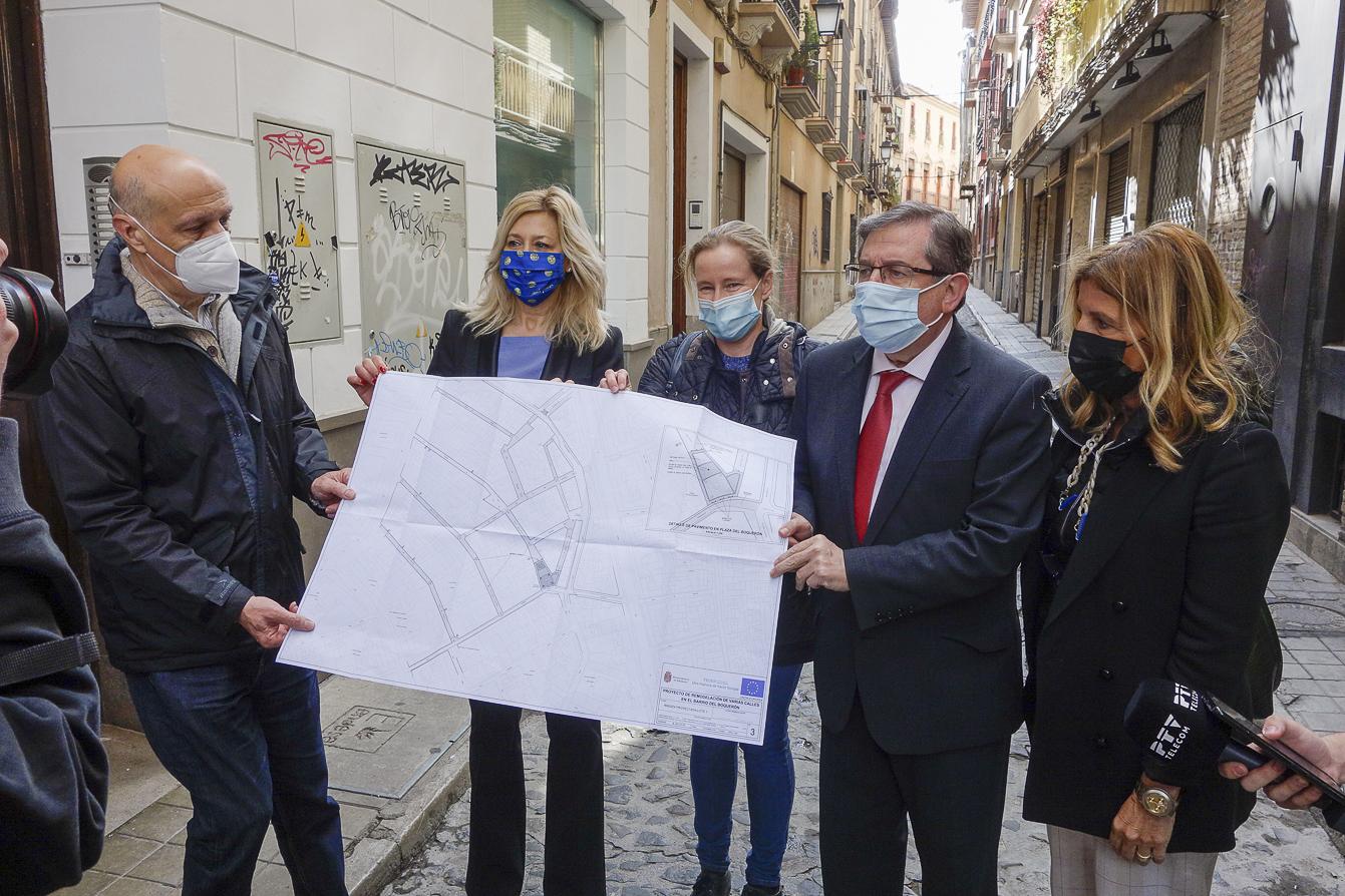 Inician las obras de remodelación de ocho calles del barrio del Boquerón