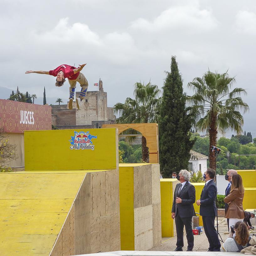 El Red Bull Al-Andalus convertirá a Granada en la capital del freerunning y el parkour