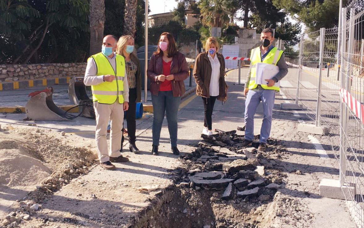 La Mancomunidad Costa mejora las infraestructuras de abastecimiento y saneamiento en Almuñécar