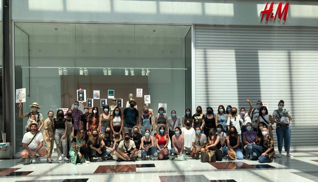 Nueva jornada de huelga contra los despidos en H&M