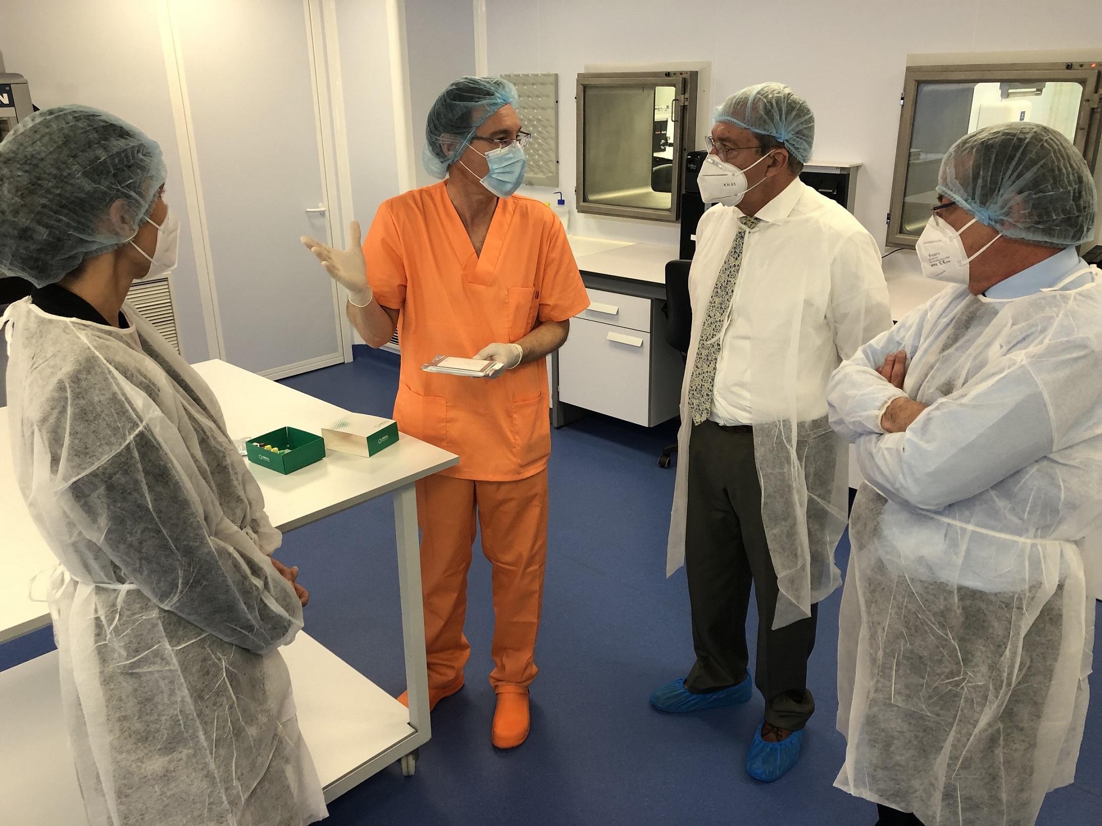 El PTS de Granada dispondrá de casi 8.000 m2 dedicados a la biotecnología puntera con la ampliación de Vircell