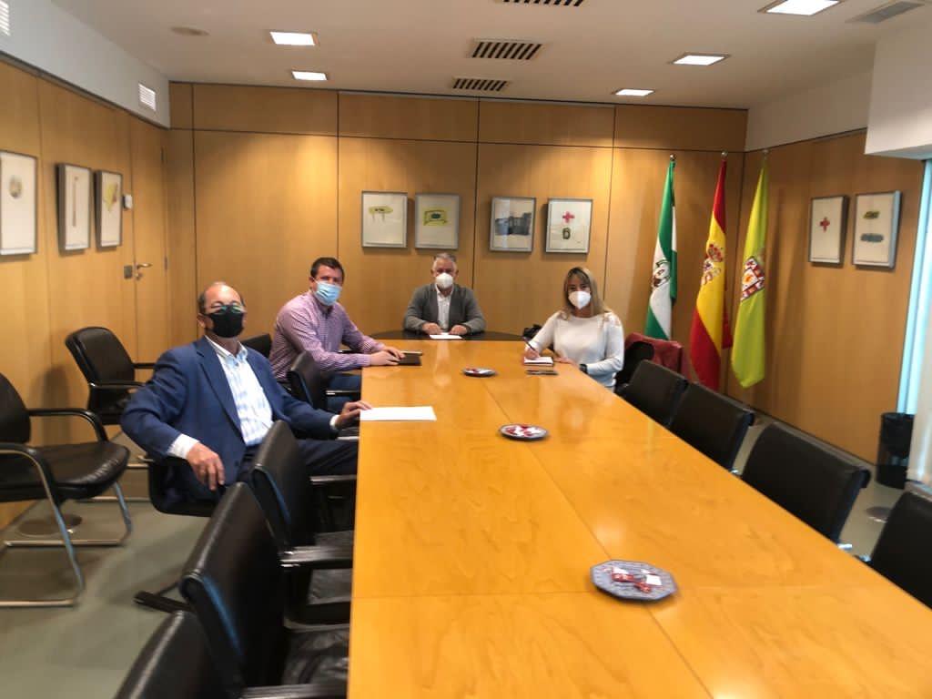 Diputación actuará para mejorar la carretera entre Granada y Monachil