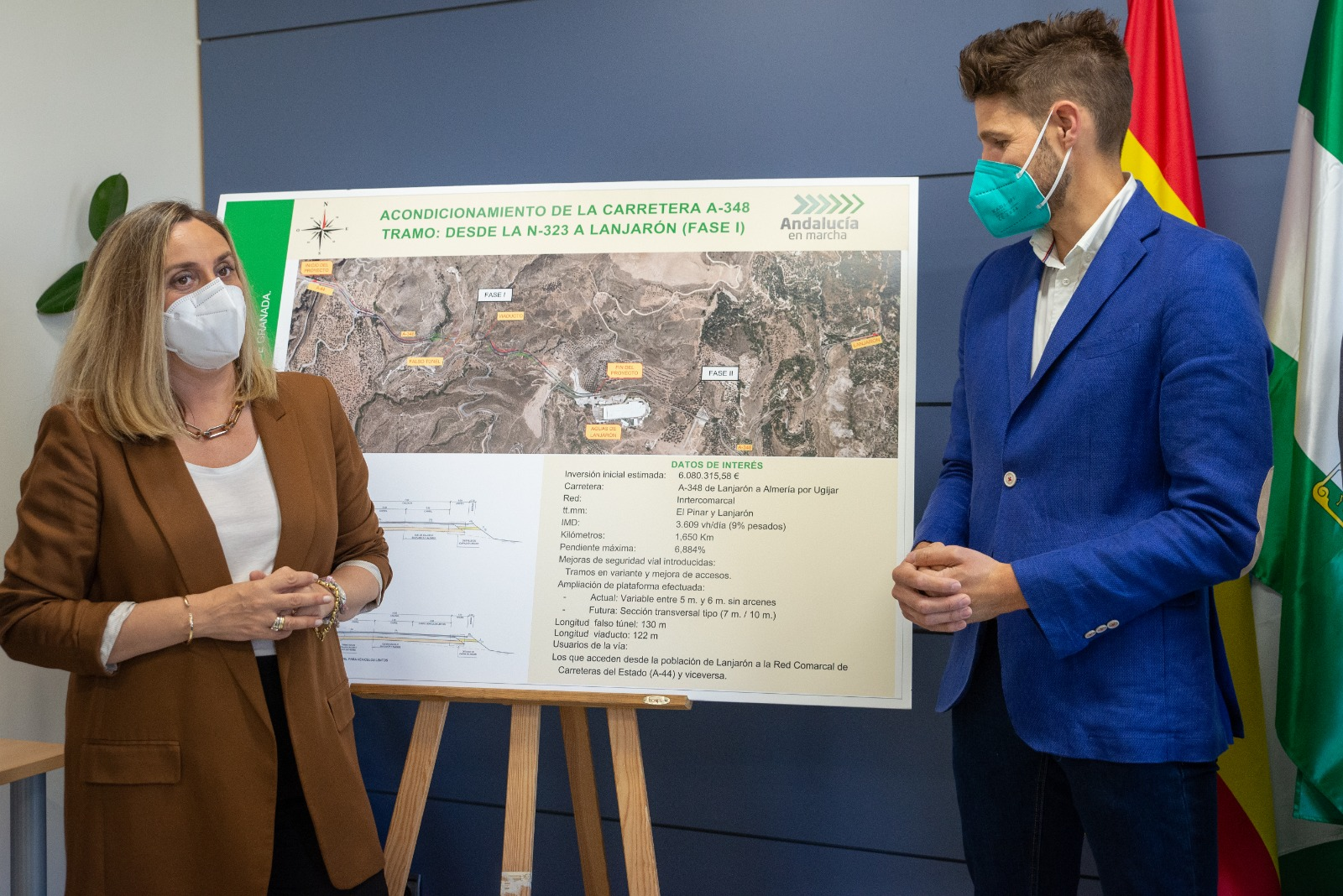 La Junta capta fondos europeos para ampliar la mejora del acceso a La Alpujarra hasta Lanjarón