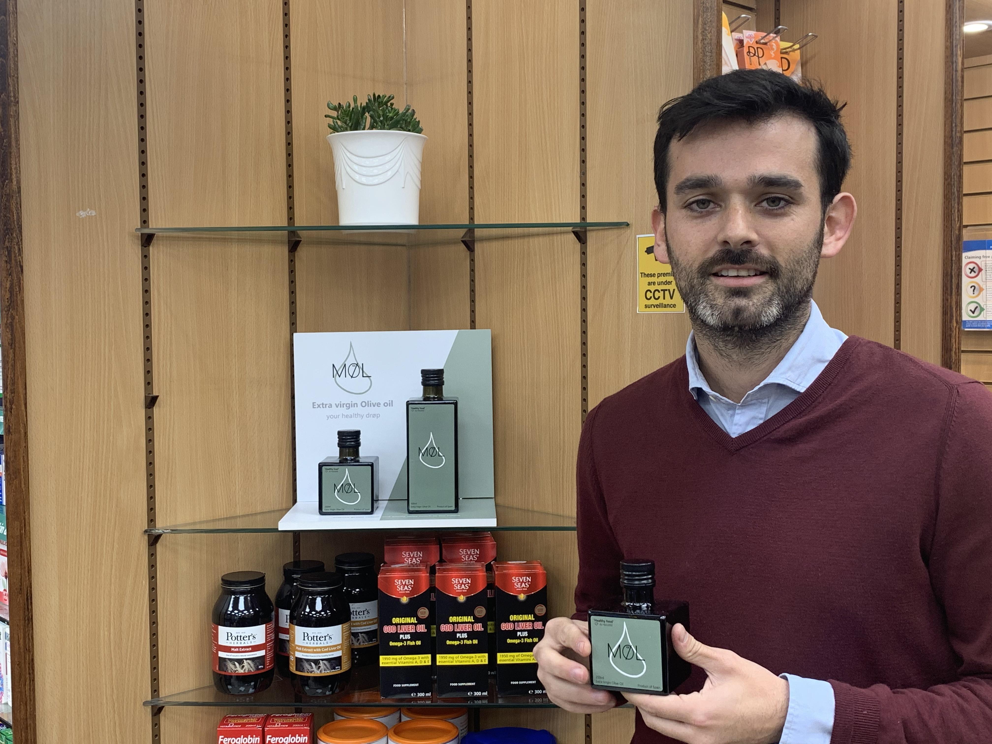 El aceite de Montefrío ya se vende en las farmacias del Reino Unido por sus muchas propiedades saludables