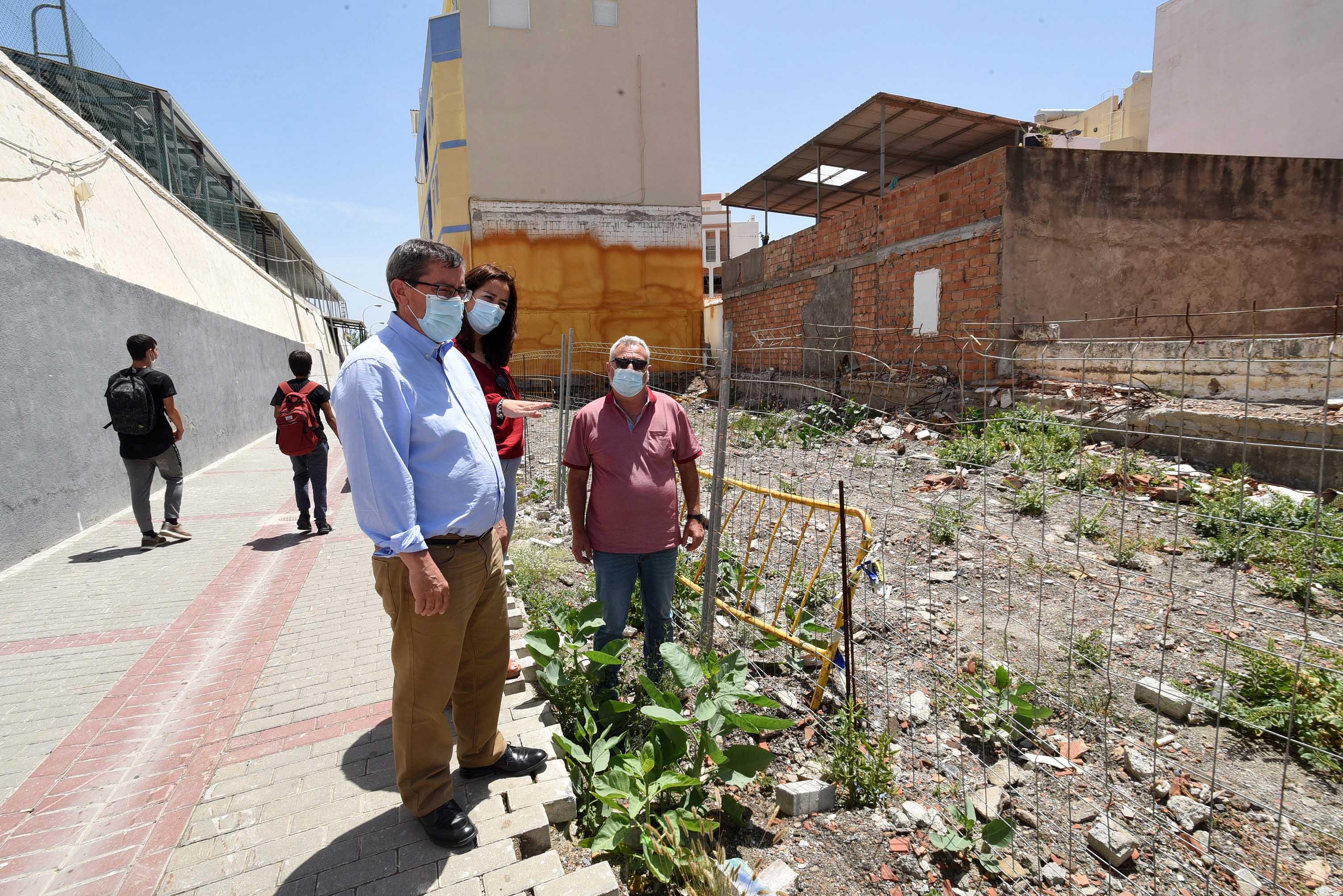Albuñol rehabilita la zona centro de su casco urbano invirtiendo 150.000 euros