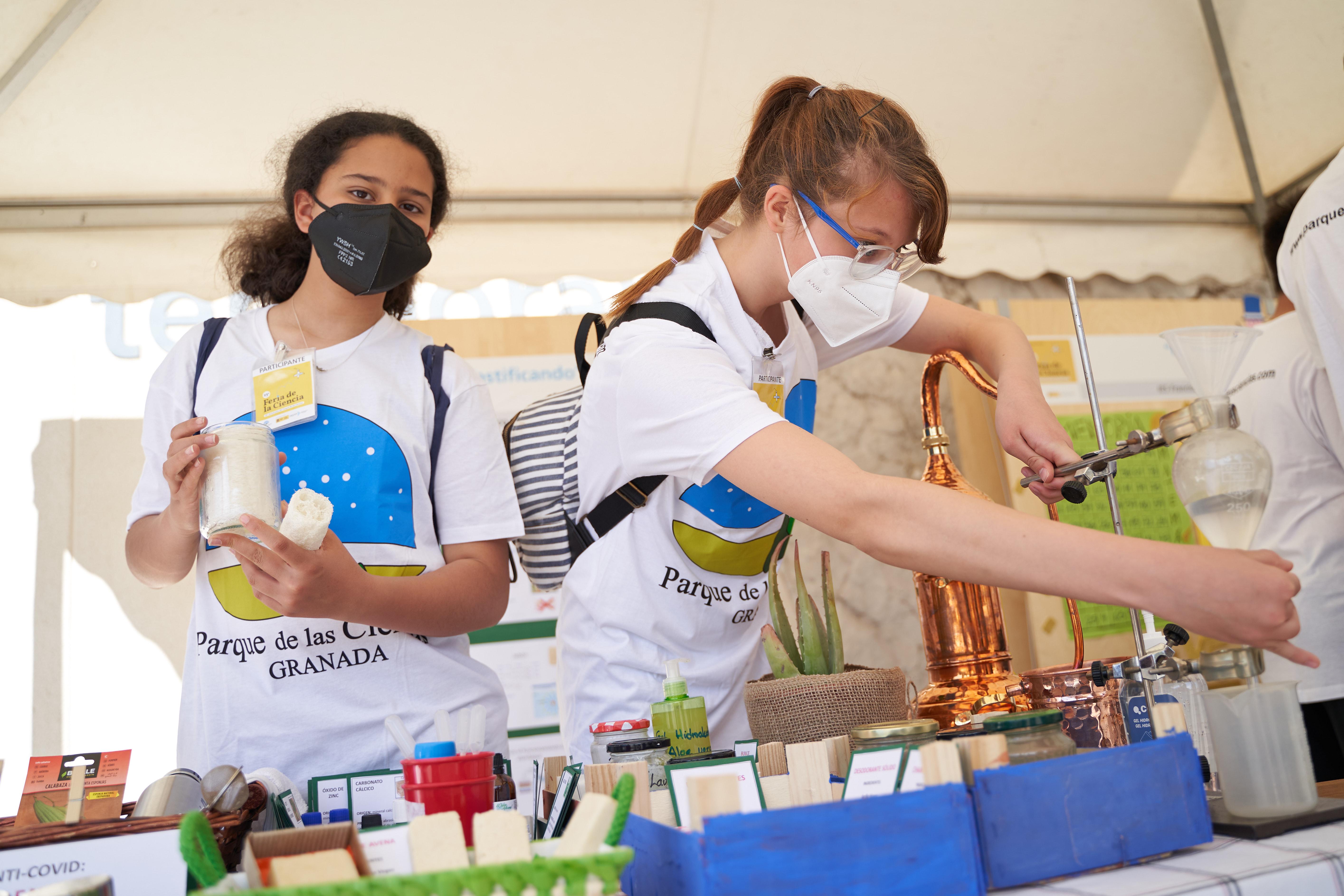 1.600 escolares participan en la Feria de la Ciencia del Parque