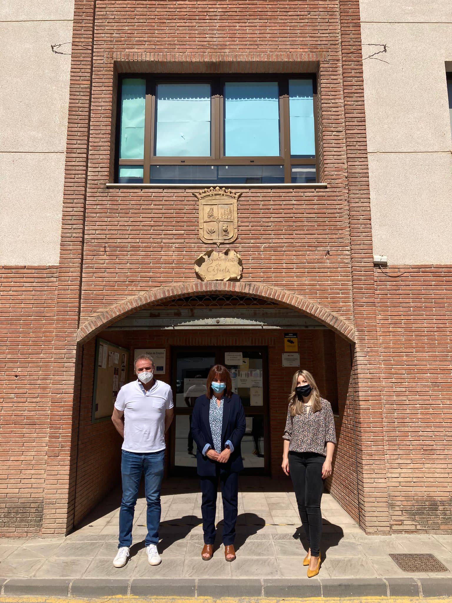 Diputación destina más de 40.000 euros a contratos de trabajo para personas vulnerables en Cijuela y Chimeneas
