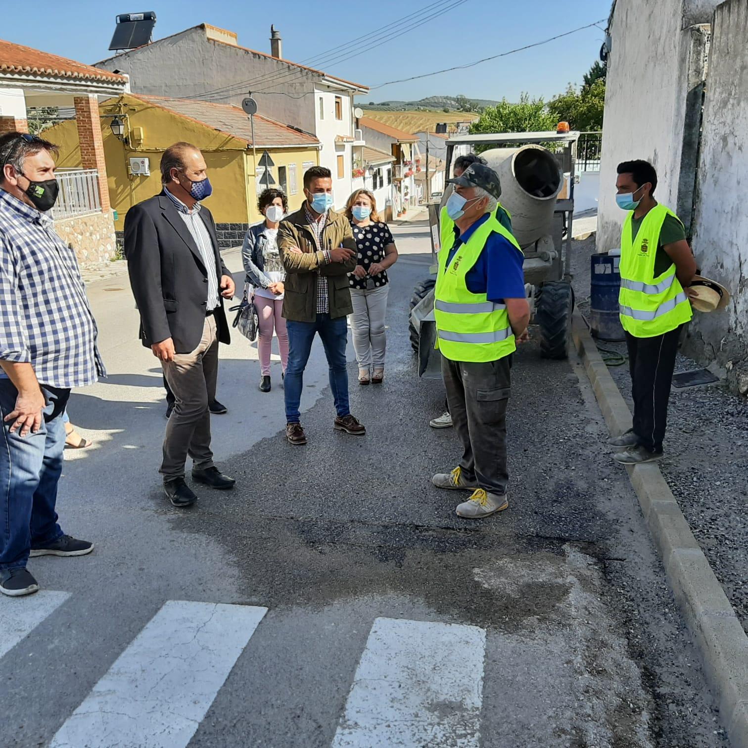 Pueblos de Moclín recibe 173.000 euros para infraestructuras municipales y reparar los daños de la DANA