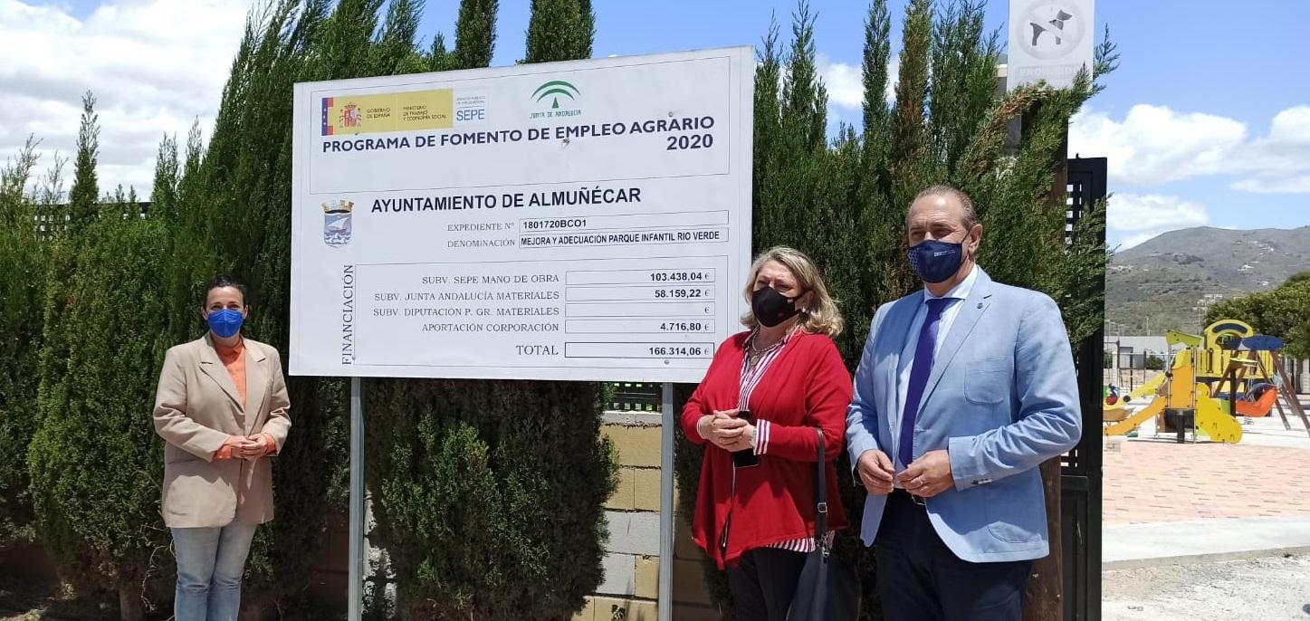 Almuñécar financia obras e infraestructuras con cargo al PFA por valor de 105.000 euros