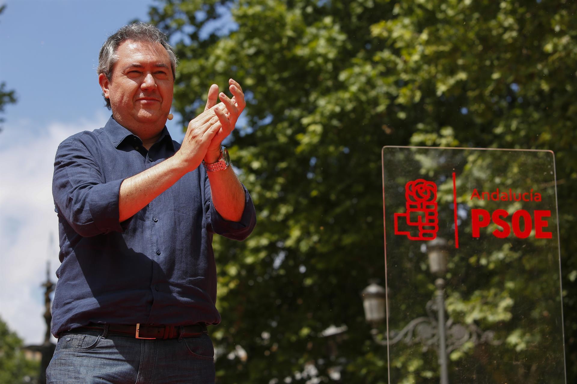 Espadas llama a votar en las primarias por su «proyecto para el PSOE» y no por uno «personalista»