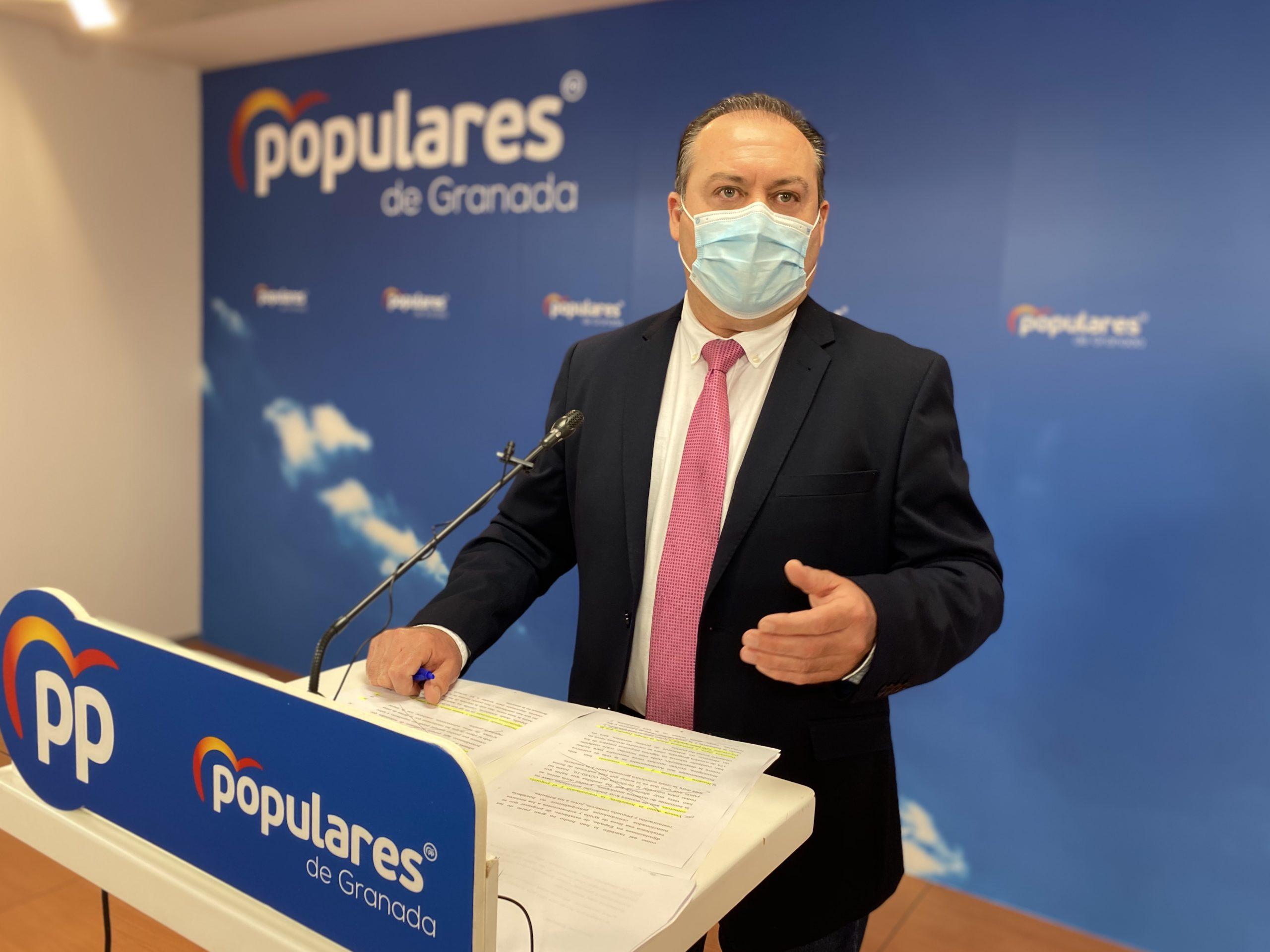 El PP exigirá a Diputación que fomente la contratación de desempleados afectados por la pandemia