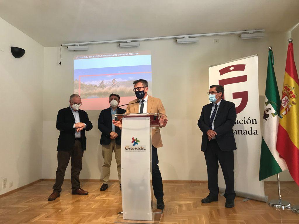 Fitur será un «escaparate único» para impulsar la reactivación del sector en la provincia de Granada