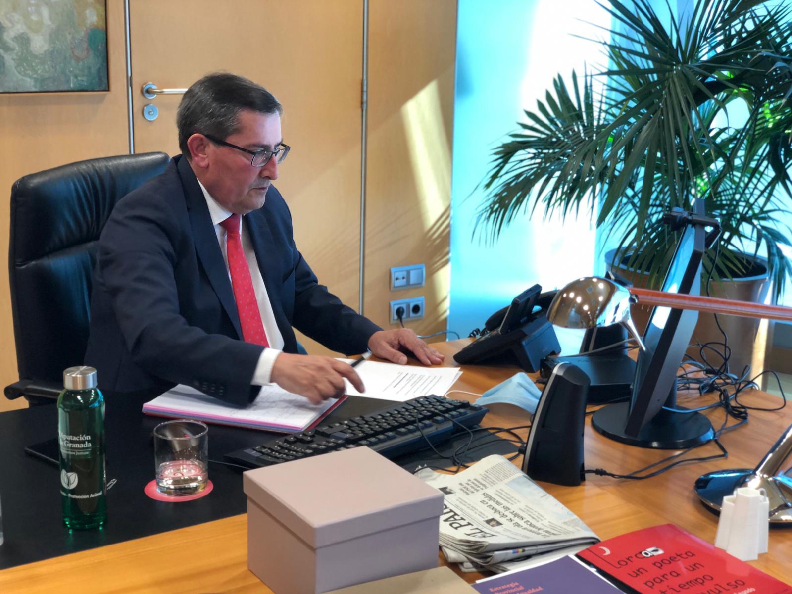 Diputación reúne a instituciones y organizaciones económicas, sociales, políticas y ciudadanas para crear un frente común por el Corredor Mediterráneo
