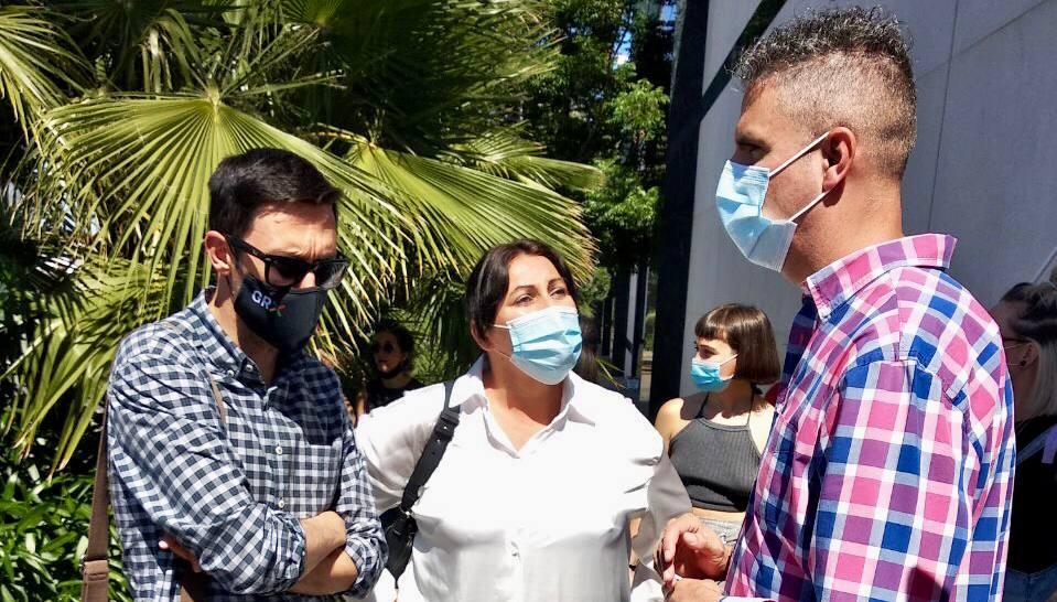 Podemos apoya a las trabajadoras de H&M y rechazan el despido de 1.066 personas, de las cuales 50 son en Granada