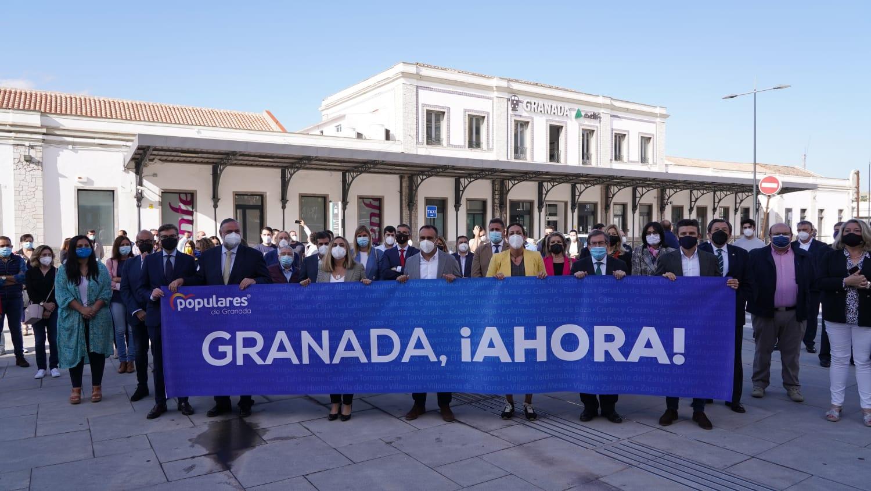 El PP arranca una campaña para denunciar «la dejadez» del Gobierno con la provincia de Granada