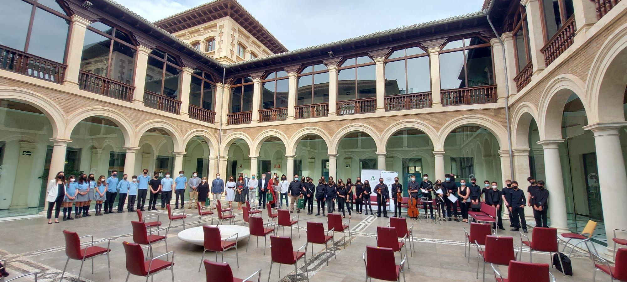 Los alumnos premiados en el II Concurso de Interpretación de Música Antigua dan un concierto
