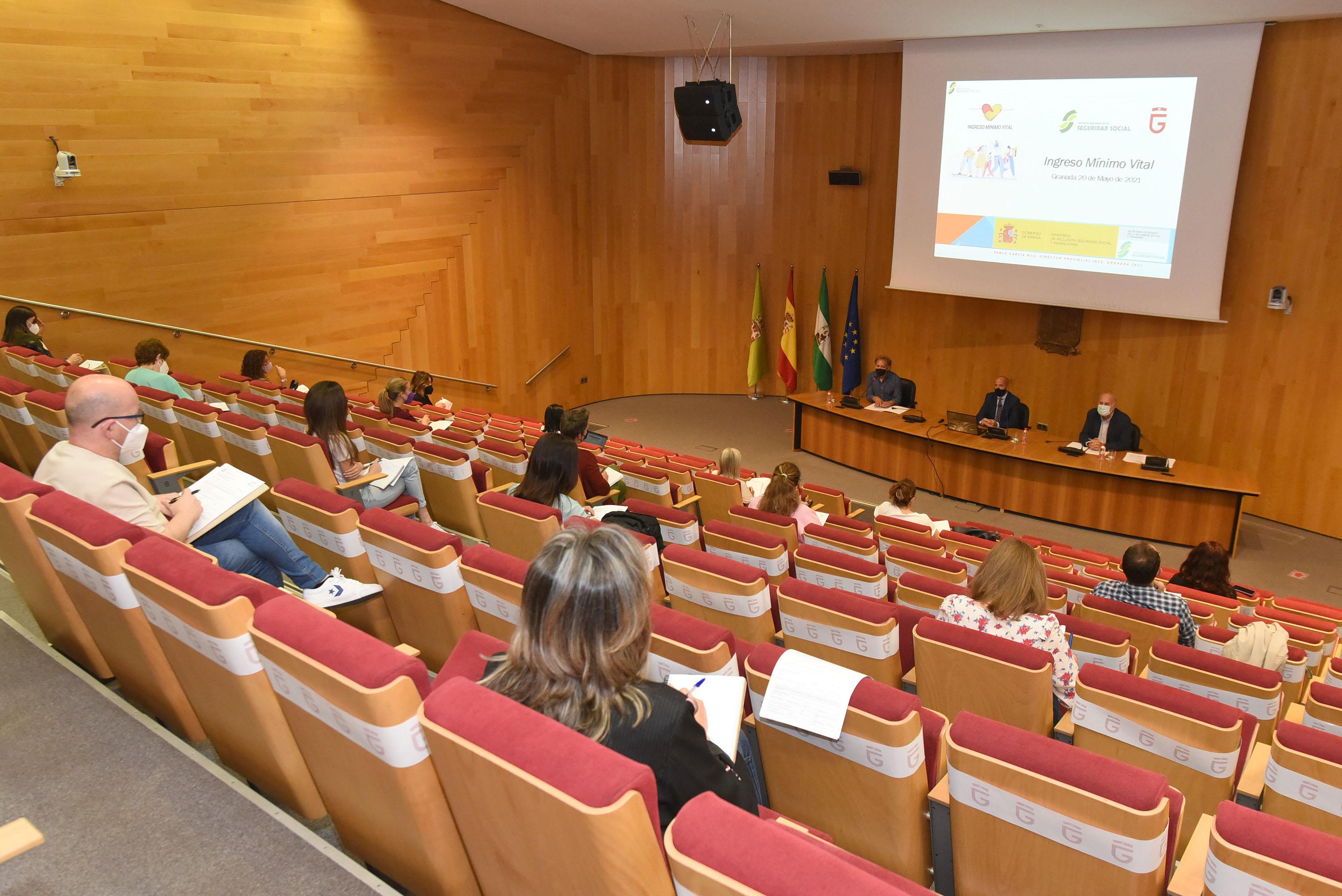 Diputación informa a los profesionales de Servicios Sociales Comunitarios sobre la gestión del Ingreso Mínimo Vital